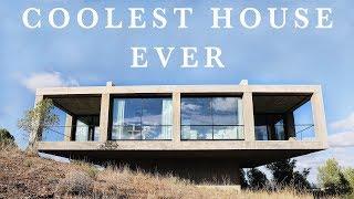 THE COOLEST HOUSE EVER ! (minimalist house tour)