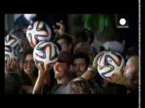 Brazuca: The FIFA 2014 World Cup ball