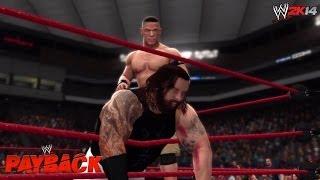 WWE Payback 2014 John Cena Vs Bray Wyatt Last Man