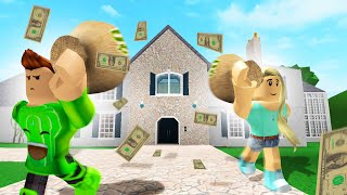 Robbing A $5,000,000 MANSION! (Roblox)