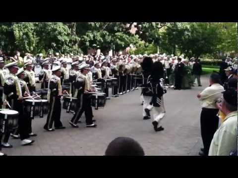 Purdue AAMB Drum Major Breakdown - Sept 15, 2012