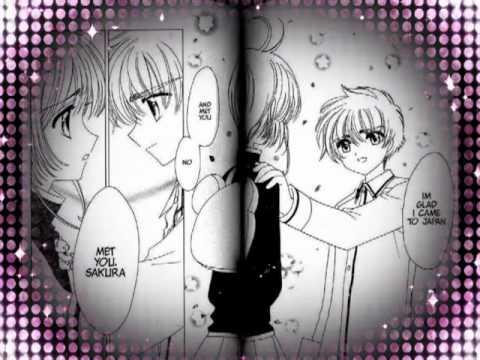 cardcaptor sakura sakura and syaoran kiss jealous