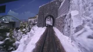 Führerstandsmitfahrt Arlbergbahn und Tauernbahn Hans-Peter Porsche TraumWerk Modellanlage