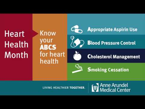 Know Your Heart Health Numbers: February is Heart Health Month at Anne Arundel Medical Center (AAMC)