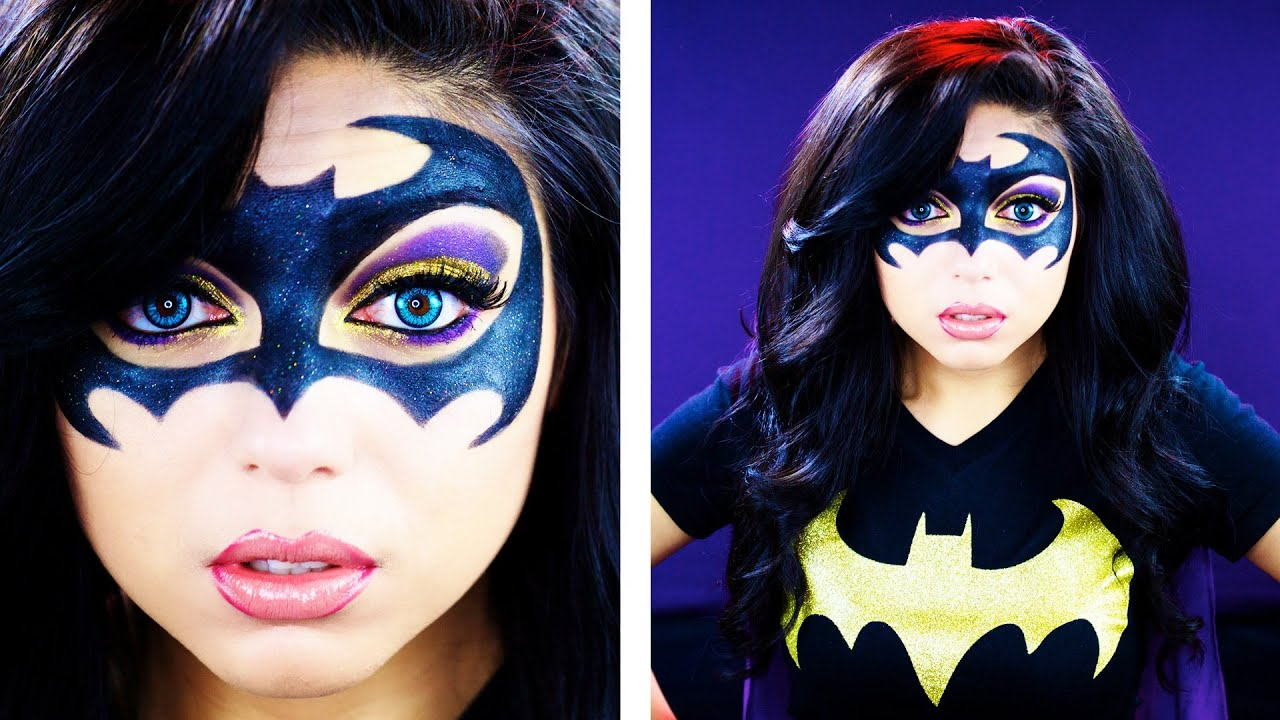 Batman Inspired Makeup Tutorial - YouTube