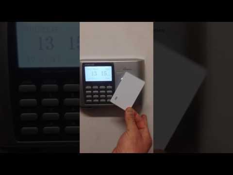 A300ID rilevazione presenze con card rfid in catena di ristorazione Milano