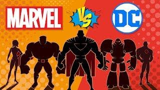 Marvel VS DC - Which is More Successful? Comic Company Comparison