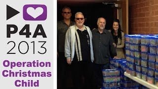 #P4A Operation Christmas Child