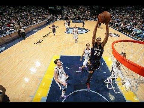 Anthony Davis' Double-Double Leads the Pelicans Over the Grizzlies