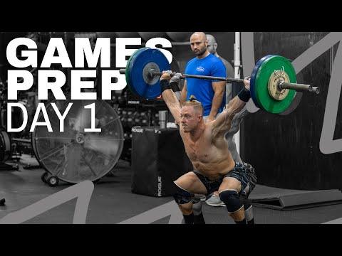 DAY 1 | 2020 CrossFit Games Prep (Noah Ohlsen/Travis Mayer)