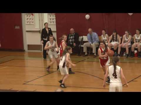NCCS - Saranac JV Girls 2-12-13