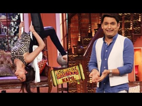 Sushmita Sen's AERIAL ACT on Kapil Sharma's Comedy Nights with Kapil 19th April 2014 FULL EPISODE