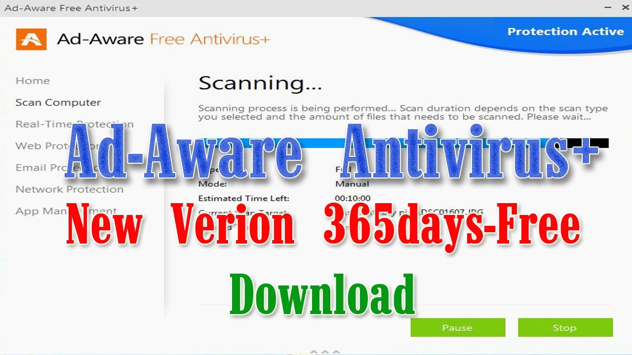 Ad-Aware Free Antivirus+ provides two-way protection encased in an antiviru