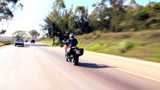 Moto Ducati Multistrada 1200 S  concilia robustez com charme das formas