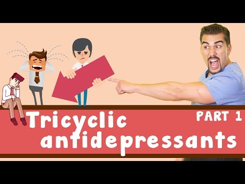 Tricyclic antidepressants (TCA) Pharmacology (Part 1 of 5 antidepressant)