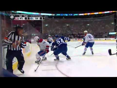 Montreal Canadiens at Toronto Maple Leafs - Game in Six - 01/18/2014