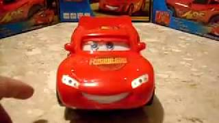Cars 2 (Disney Pixar) McQueen Bate E Volta