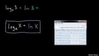 Naravni logaritem – primer