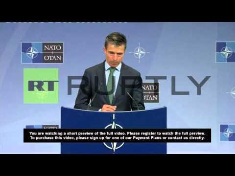 Belgium: NATO suspends all 'practical cooperation' with Russia