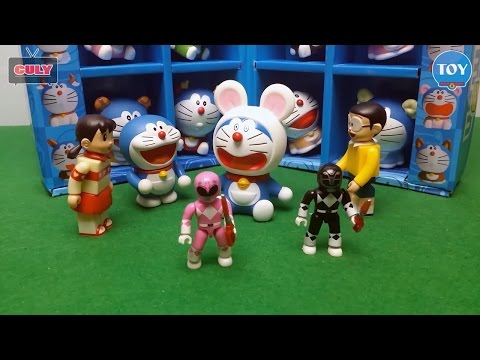 Siêu nhân doremon chế tập 1,2,3,4 đồ chơi trẻ em doraemon toy for kids