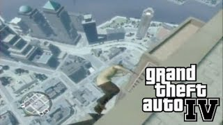 GTA 4 : Surviving A Fall Off The Empire State Building