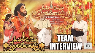 Om Namo Venkatesaya team interview
