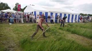 Weed Whacker vs Scythe