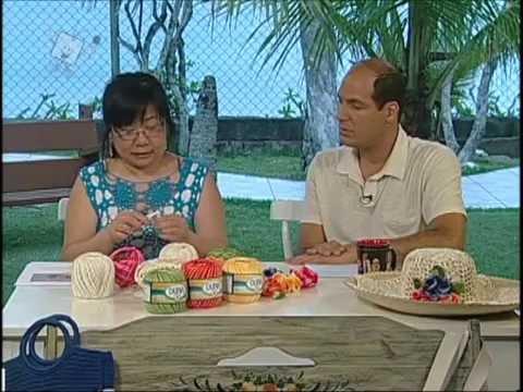 Ateliê na Tv - 03-01-12 - Cristina Luriko - Almofada