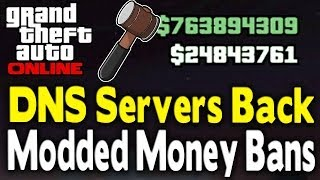 GTA Online DNS Servers Are Back! Rockstar Ban Wave Info