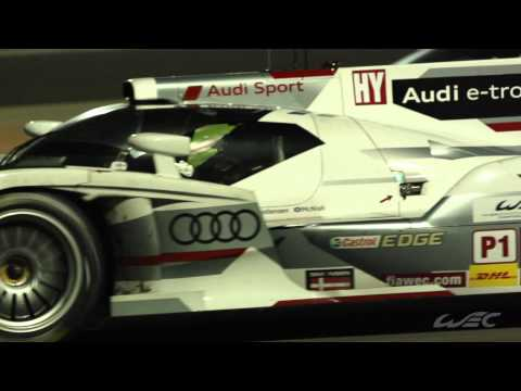 2013 WEC 6 Hours of Bahrain Footage (Audi Sport)