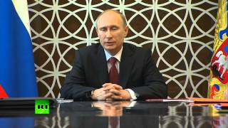 Владимир Путин: Кризис на Украине возник не по вине России