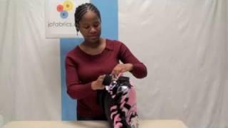 How To Make A No-Sew Fleece Tie Pillow J&O Fabric Store