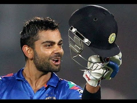 Virat Kohli becomes No.1 ODI batsman in ICC Rankings,India vs west Indies 1st ODI..HD!!