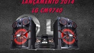 Lançamento 2014 Mini System LG X-BOOM CM9740