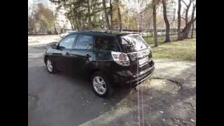 Toyota Matrix 2007 г.в. видео тест-драйв на bizovo.ru