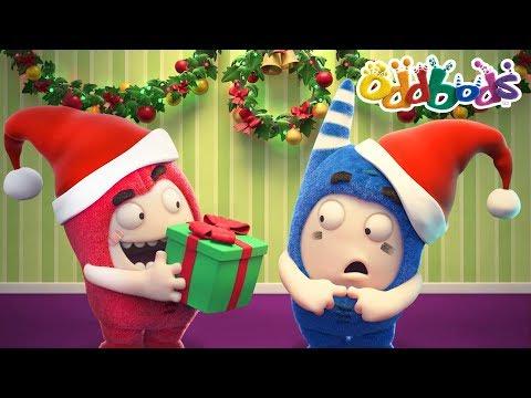 Oddbods | Funny CHRISTMAS SURPRISES | Cartoons For Kids