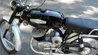 1968 Harley Davidson 125 Rapido ML Made In Italy By Aermacchi
