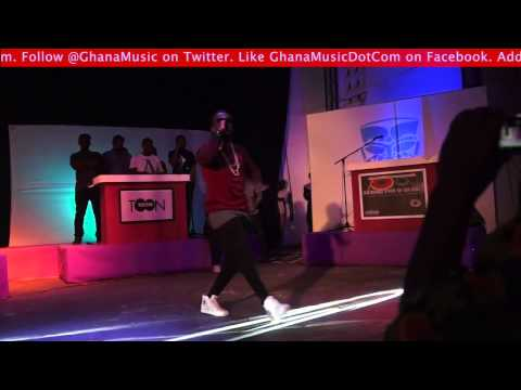 Sarkodie - - Performance @ Bless The Mic 2013