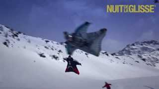 IMAGINE: first ever wingsuit flying above skiers