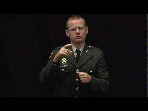 Deaf in the military [Subtitled]: Keith Nolan at TEDxIslay