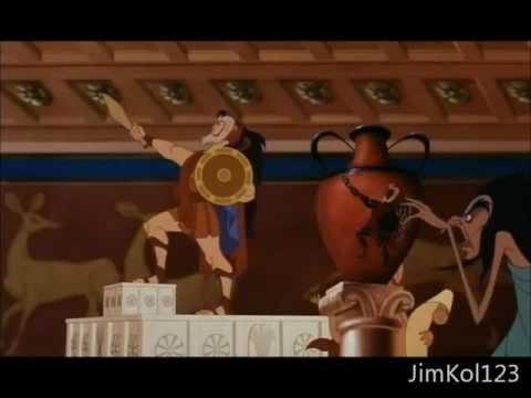 Ηρακλής αστείες σκηνές (Hercules funny scenes - Greek)