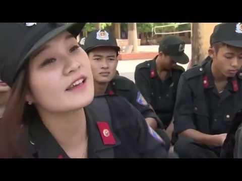 Đào tạo Nữ cảnh sát đặc nhiệm tại Trường Trung cấp Cảnh sát vũ trang T45