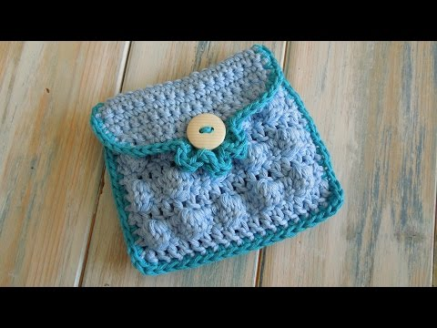 (crochet) How To - Crochet a Small Purse - Yarn Scrap Friday