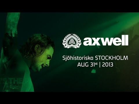 Axwell at Where's The Party - Maritime Museum Stockholm, Sweden.2013 Full Set