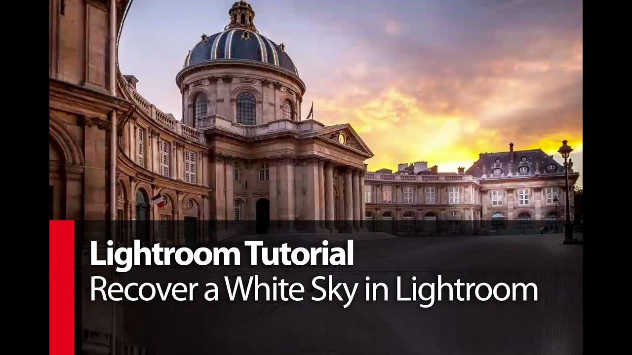 how to get gradual sky lightroom
