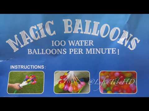 Mainan Anak Mandi Balon Ajaib ❤ Magic Water Balloons Fill 100+ Balloons in under 1 Minute