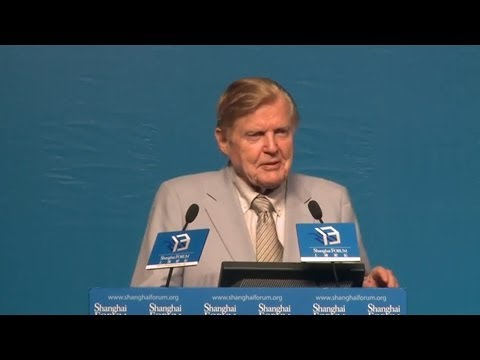 [2013 Shanghai Forum] Robert Mundell