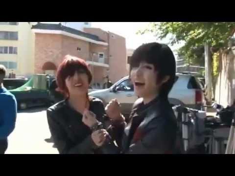 Hậu trường MV Cry Cry JiYeon-Qri đôi bạn siu dễ thương - YouTube.flv