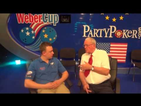 Weber cup 2011 - Osku Palermaa interviewed