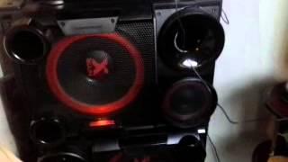 Mini System Lg X BOOM Cm 9730